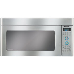 Stainless NNSD291S Panasonic 2.0Cu.FT Over-the-range Microwave