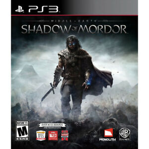 Brand new in plastic- PS3 Middle Earth Shadow of Mordor