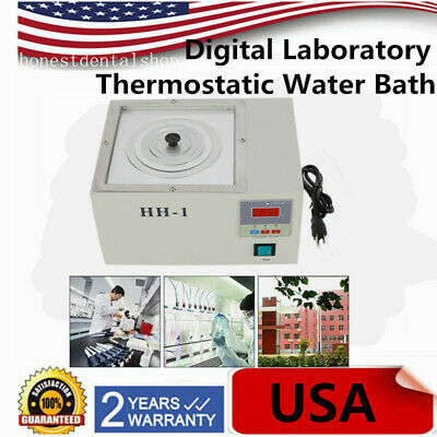 110v Digital Electric Thermostatic Constant Temperature Water Bath 300w Usa New