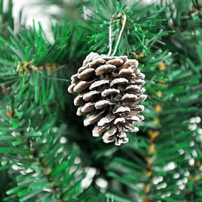 Großhandel 1 Packung mit 9 Tannenzapfen Kugeln Weihnachtsbaum Dekorationen FBB