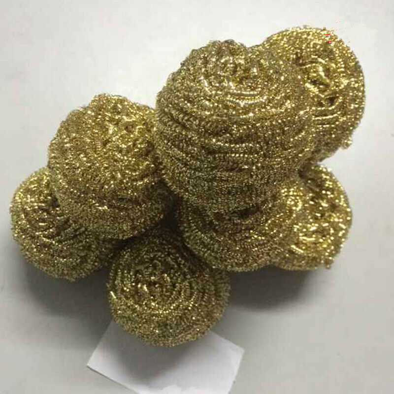 Soldering Solder Iron Tip Cleaner Brass Cleaning Wire Sponge Ball 20pcs/Lot