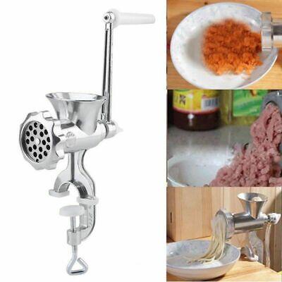 Meat Grinder Mincer Stuffer Manual Sausage Filler Noodle Pasta Maker Kitchenaid