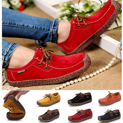 New Women Flats Shoes Loafers Moccasins Ladies Shoes Womens Casual (Ladies Moccasins)
