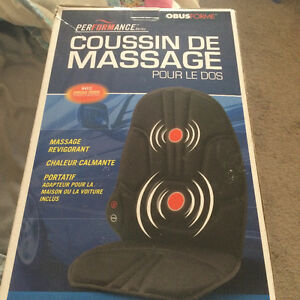 seat massager- never used