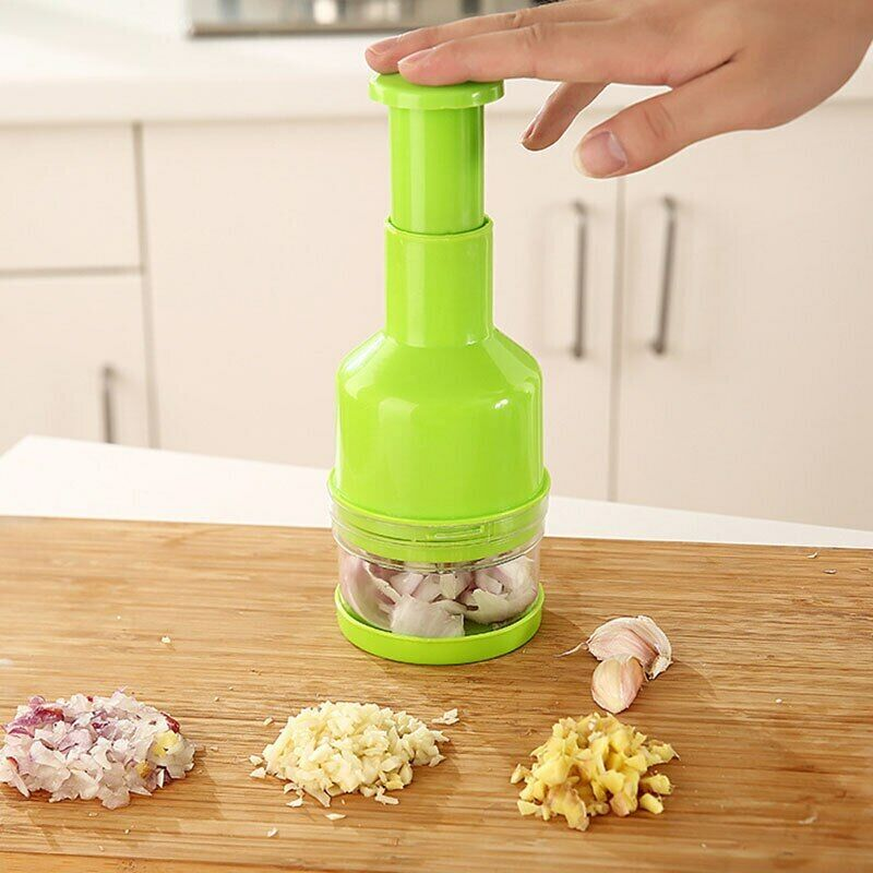 Pressing Food Chopper Cutter Slicer Peeler Dicer For Kitchen