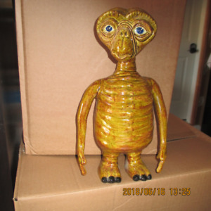 """Ceramic """"ET The Extra Terrestrial"""" Coin Bank  approx. 12: high"""