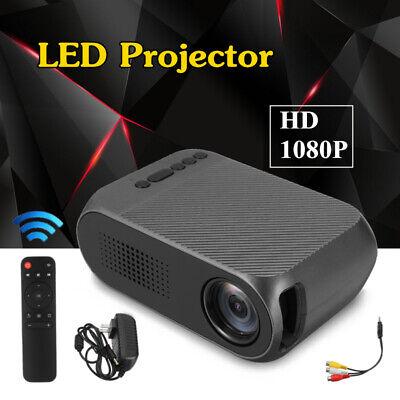 Mini Projector HD 1080P WIFI Smart LED Video Home Theater Cinema HDMI USB