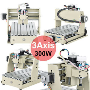 3Axis 3020 CNC Router Engraver Engraving Machine DESKTOP CARVING CUTTER+Mach3 AU