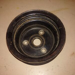 1969-70 Chevy Crank Pulley 3956666 AG  2-groove