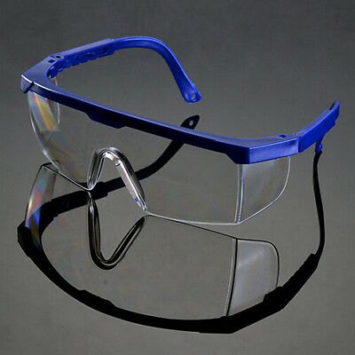 Vented Safety Goggles Glasses Eye Protection Protective Lab Anti Fog Clear Do
