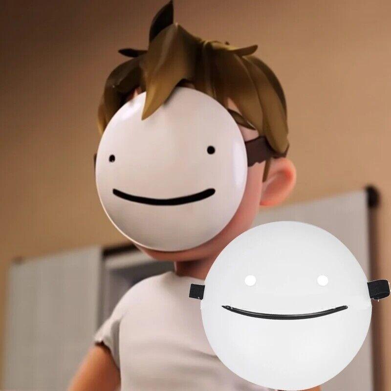Halloween Cartoon Smile Dream Mask Helmet Cosplay Costume Props Accessories