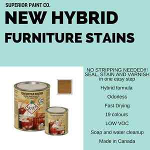HYBRID Seal Stain Varnish (Canadian Made)