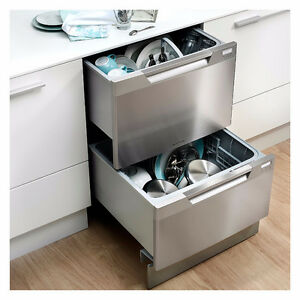 Stainless Steel Double Drawer Dishwasher -----REG over $1200
