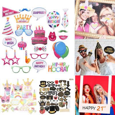 Props Frame Wedding Hen Party Birthday Baby Shower Selfie UK (Photobooth Photo Frame)