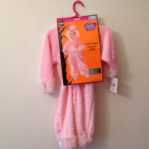 NEW Costume Halloween caniche/poodle girl/fille 4-6x