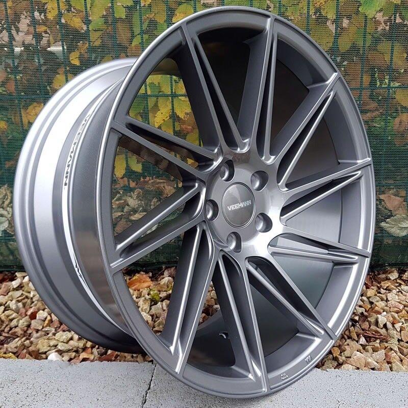 """19"""" Veemann V-FS26 Gunmetal 5x112 for VW Audi"""