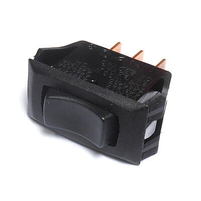Rocker Switch SPDT Latching On-Off-On 16A/125VAC Carling Switch 211-RB
