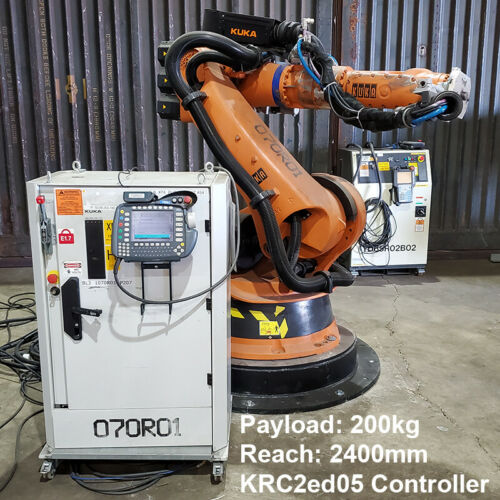 Kuka KR200 -3 comp Robot complete with KRC2ed05 Controller - Excellent