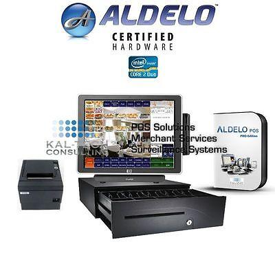 Aldelo 2019 Pro Restaurant All-in-one Pos System 3gb New Ssd Hdd 3yr Warranty