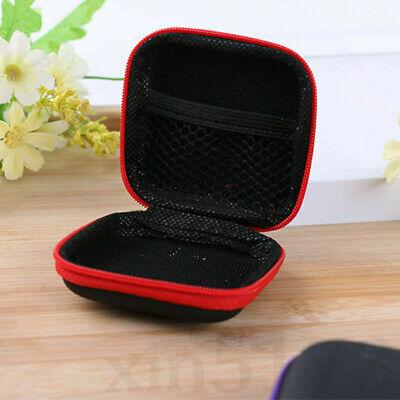 Mini Headset Zipper Case Bag Storage Pouch Cover For iPod iPhone 6 6s Headphone - Iphone Headset Case