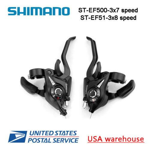Shimano st-ef500 3 x 7 speed Bike Shift//Bremshebel-Set