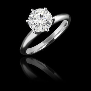 Superbe bague de fiançailles 1.55CT Diamond Engagement Ring
