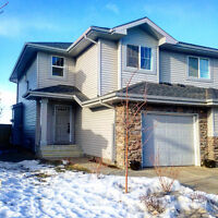 Newer Duplex With Full Upgrade Package & Landscaping!