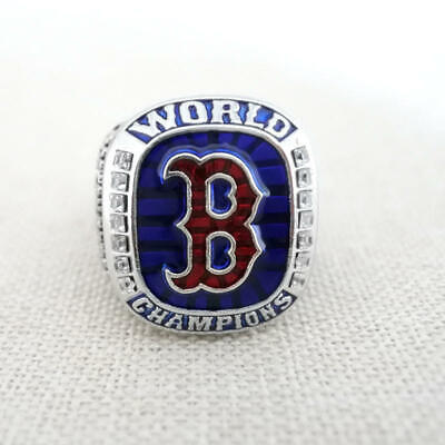 Boston Red Sox World Series Rings - 2018 Boston Red Sox World Series Championship Ring - Made in NH - USA
