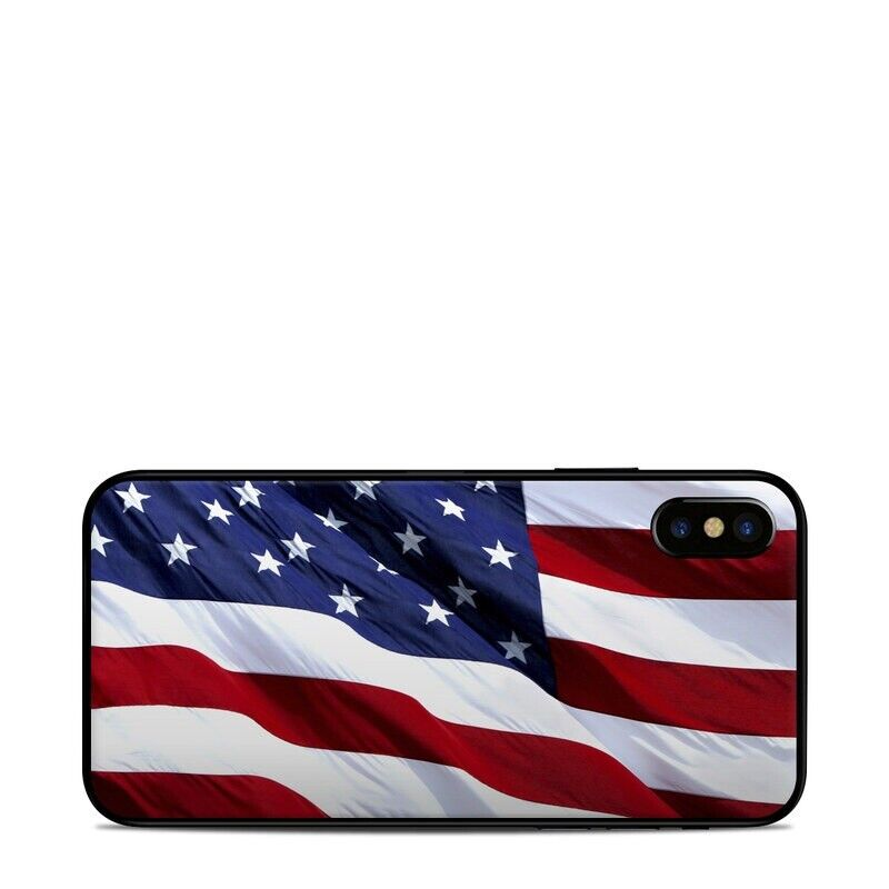 iPhone X/XS Skin - Patriotic by Flags - Sticker Decal