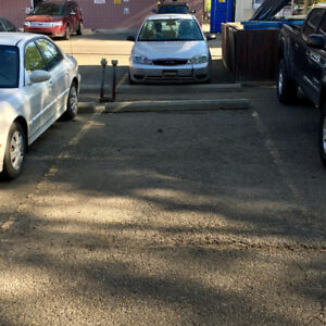 Parking Stall for Rent - Garneau / UofA / Whyte
