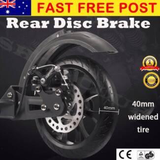 DISC BRAKE Design 200mm Diameter Big Wheel Push Scooter Adult