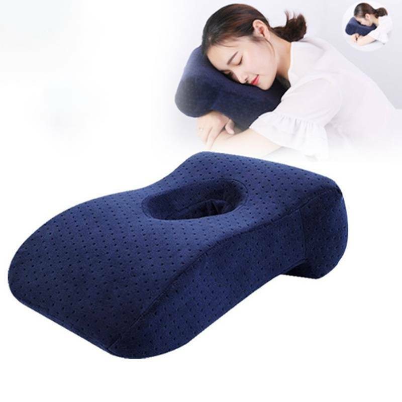 Massage Memory Foam Pillow Table Cradle Face Down Head Rest