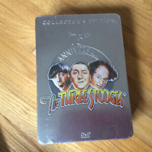 Three Stooges DVD - 75th Anniversary Collector's Edition