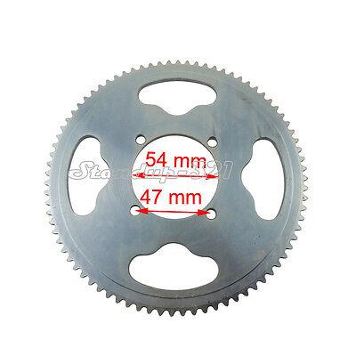 25H 80T 54mm Rear Sprocket For XRF500 Razor MX350 MX400 Dirt Bike Mini Moto