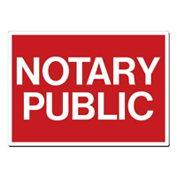 NOTARY PUBLIC --$9.99 only. Open Long Weekend