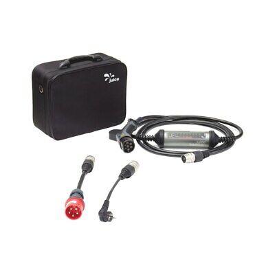 Ladekabel Elektroauto E-Auto Typ 2 Ladegerät mobile Wallbox Juice Booster 2 E2