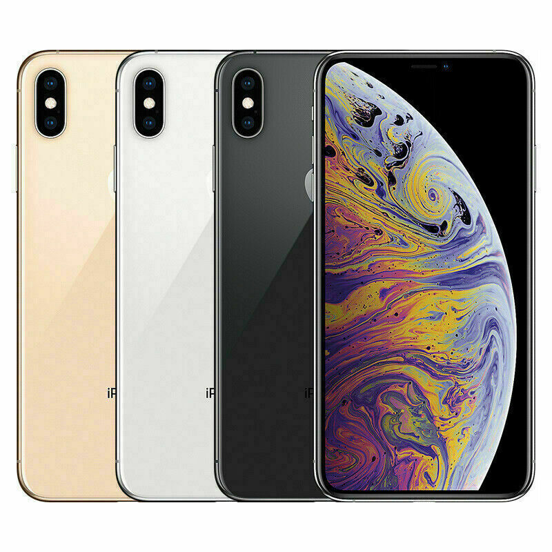 Apple iPhone XS 64GB 256GB 512GB Smartphone Mobiles – All Colors – Unlocked iOS Cell Phones & Accessories