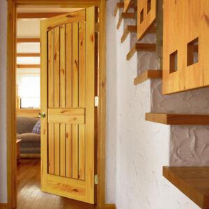 Brand New Solid Prehung Pine Door