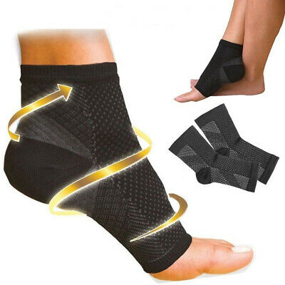 Best PLANTAR FASCIITIS Foot Pain Compression Sleeve Heel Ankle Socks (Best Foot Arch Support)
