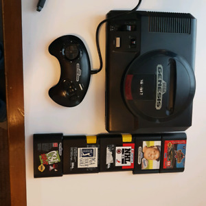 Sega Genesis with all hookups controller and games