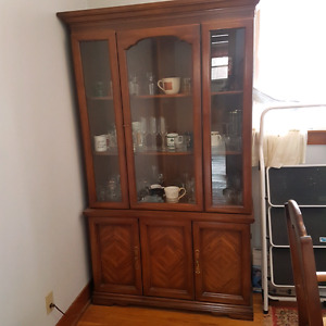 Table, Chairs, Buffet & Hutch