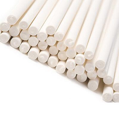 50 Paper Lollipop Sticks Lollypop Lolly Cake Pop Sticks 3 Inch