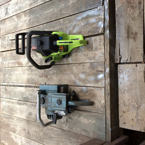 2 chainsaws for Sale