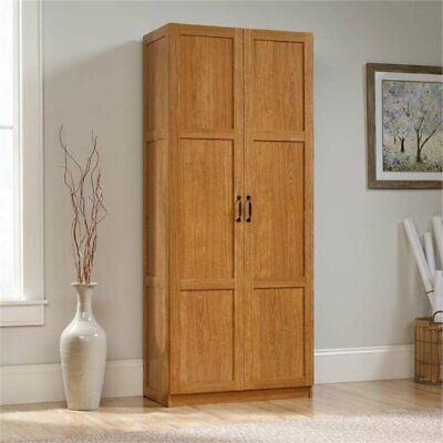 Pemberly Row Storage Cabinet in Highland Oak
