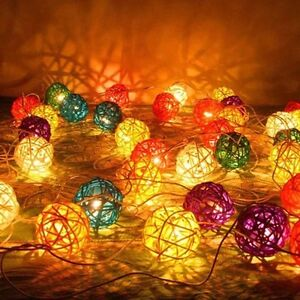5 meters of ball lights