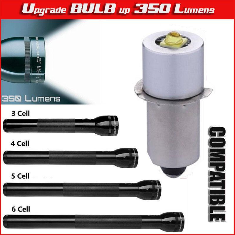 LED Upgrade Bulb Conversion maglite parts Flashlight 3 4 5 6