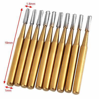 Dental Tungsten Steel Carbide Crown Metal Cutting Burs For High Speed Fg-1957