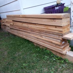 CEDAR lumber - various sizes for sale