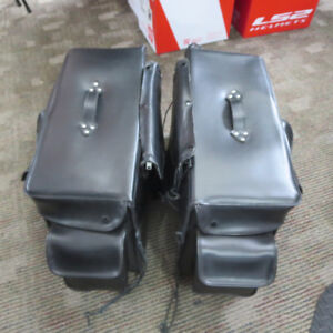 Power Trip  Motorcycle Saddle Bags ONLY $60 RE-GEAR