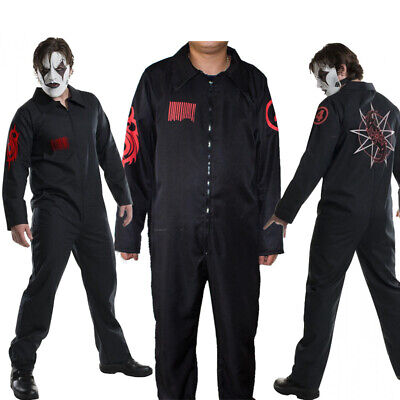 Slipknot Band Black Team Uniform Cosplay Costume Adult Masquerade Halloween Suit](Slipknot Suits)
